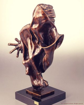 Bronze on marble - made by Avi Kenan