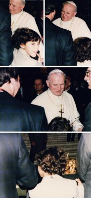 Received by His Holiness Pope Jean Paul II - 1986